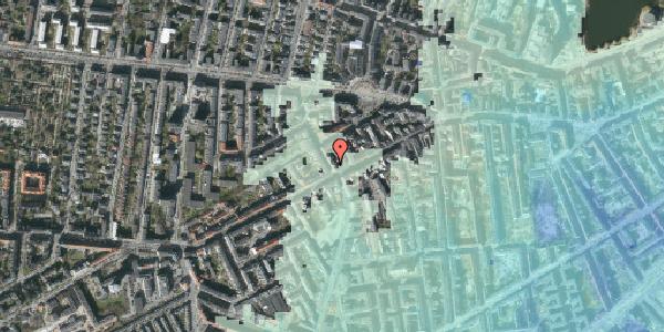 Stomflod og havvand på Kingosgade 2, st. th, 1623 København V
