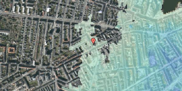 Stomflod og havvand på Kingosgade 3, 3. tv, 1623 København V