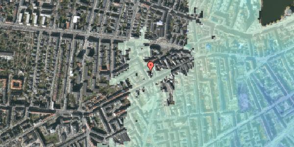 Stomflod og havvand på Kingosgade 4, 1. th, 1623 København V