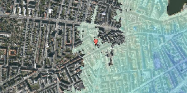 Stomflod og havvand på Kingosgade 5, kl. tv, 1623 København V