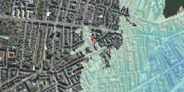 Stomflod og havvand på Kingosgade 6, 2. tv, 1623 København V