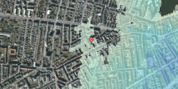 Stomflod og havvand på Kingosgade 7, 1. th, 1623 København V