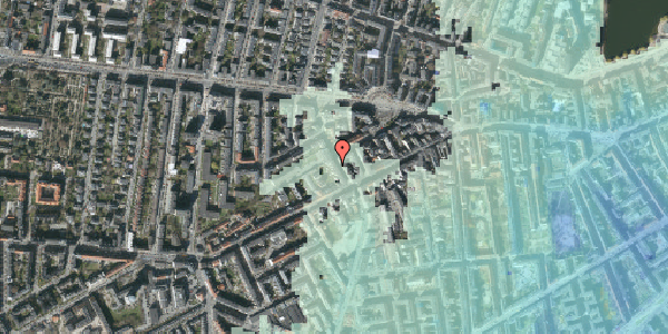 Stomflod og havvand på Kingosgade 7, 2. th, 1623 København V