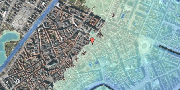 Stomflod og havvand på Klareboderne 6, 4. th, 1115 København K