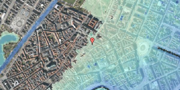 Stomflod og havvand på Klareboderne 10, kl. , 1115 København K