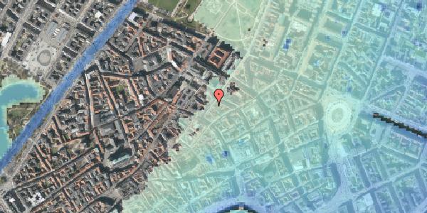 Stomflod og havvand på Klareboderne 12, kl. , 1115 København K