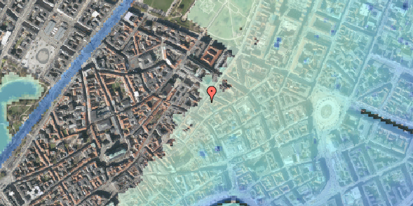Stomflod og havvand på Klareboderne 12, 3. , 1115 København K