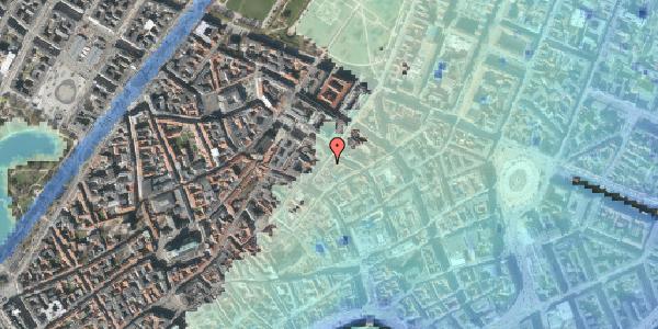 Stomflod og havvand på Klareboderne 14, 4. , 1115 København K