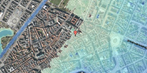 Stomflod og havvand på Klareboderne 16, kl. , 1115 København K