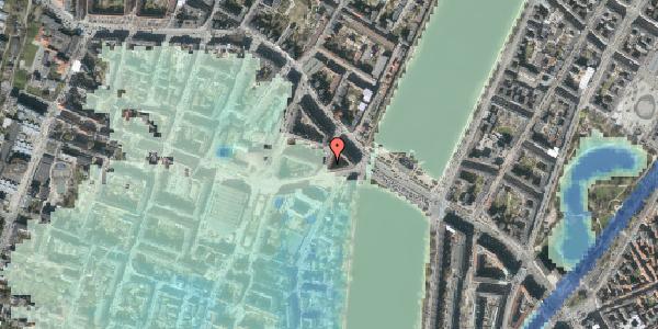 Stomflod og havvand på Kleinsgade 3, 2. 4, 1633 København V