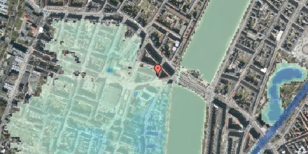 Stomflod og havvand på Kleinsgade 6, 5. , 1633 København V