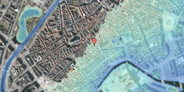Stomflod og havvand på Klosterstræde 11, st. , 1157 København K
