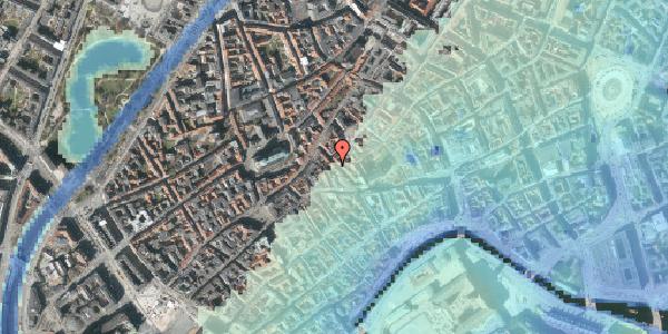 Stomflod og havvand på Klosterstræde 17, 1. , 1157 København K
