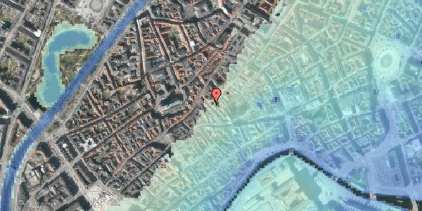 Stomflod og havvand på Klosterstræde 20, 4. , 1157 København K