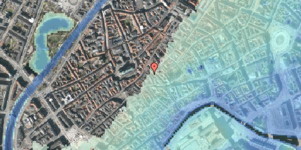 Stomflod og havvand på Klosterstræde 21A, st. , 1157 København K