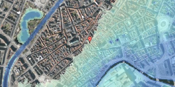 Stomflod og havvand på Klosterstræde 23B, 1. , 1157 København K
