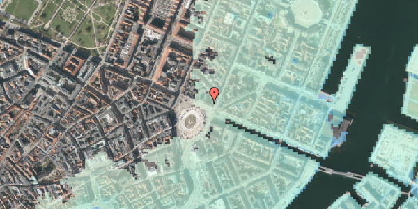 Stomflod og havvand på Kongens Nytorv 4, st. , 1050 København K