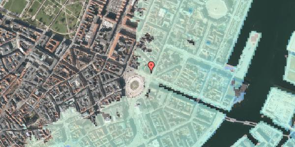 Stomflod og havvand på Kongens Nytorv 4, 1. , 1050 København K