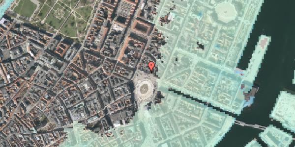 Stomflod og havvand på Kongens Nytorv 8, st. , 1050 København K