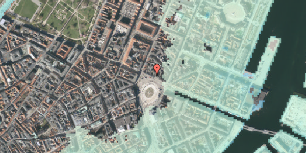 Stomflod og havvand på Kongens Nytorv 8, 4. , 1050 København K