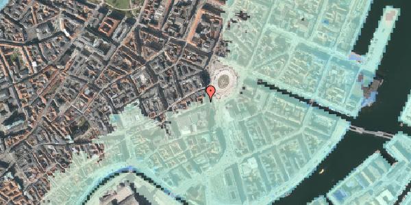 Stomflod og havvand på Kongens Nytorv 19, 2. , 1050 København K