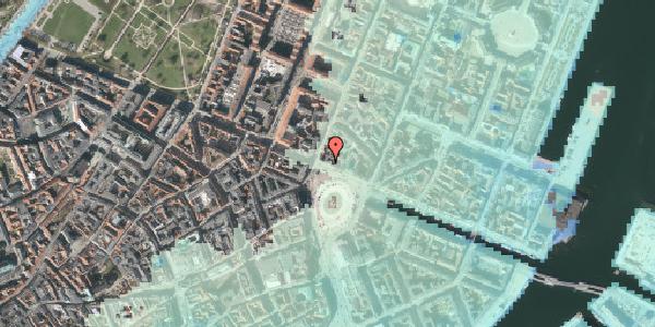 Stomflod og havvand på Kongens Nytorv 20, kl. th, 1050 København K