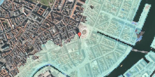 Stomflod og havvand på Kongens Nytorv 21, 1. tv, 1050 København K