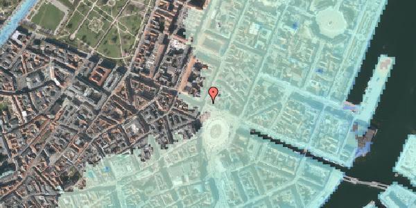 Stomflod og havvand på Kongens Nytorv 24, 1. , 1050 København K