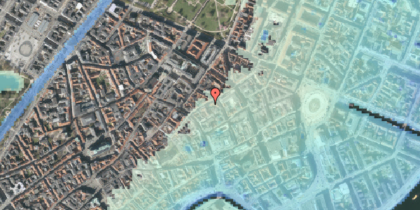 Stomflod og havvand på Kronprinsensgade 12, 3. , 1114 København K