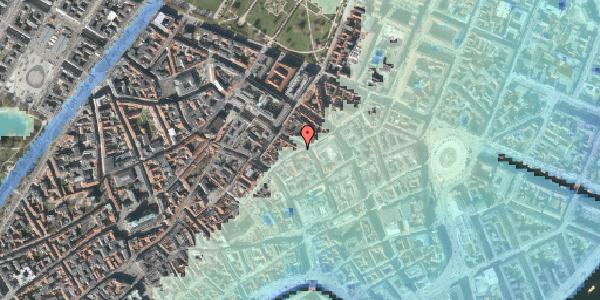 Stomflod og havvand på Kronprinsensgade 13, kl. , 1114 København K