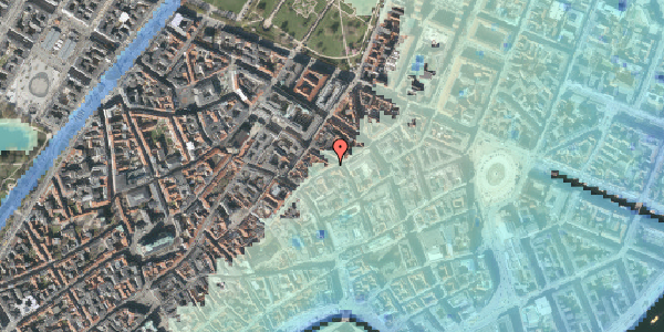Stomflod og havvand på Kronprinsensgade 13, 2. tv, 1114 København K