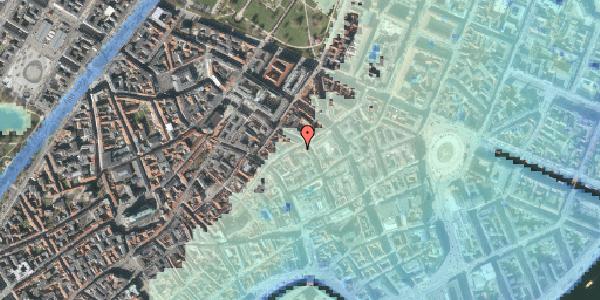 Stomflod og havvand på Kronprinsensgade 14, kl. , 1114 København K