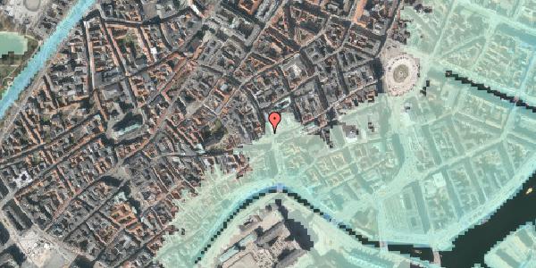 Stomflod og havvand på Købmagergade 1, 3. , 1150 København K