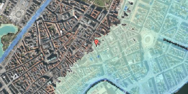 Stomflod og havvand på Købmagergade 25, 1. tv, 1150 København K