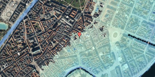 Stomflod og havvand på Købmagergade 26C, 1. , 1150 København K