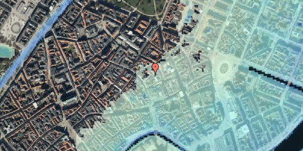 Stomflod og havvand på Købmagergade 26E, 3. , 1150 København K