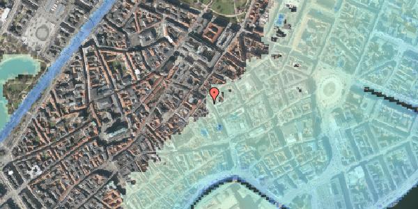 Stomflod og havvand på Købmagergade 27, 1. , 1150 København K