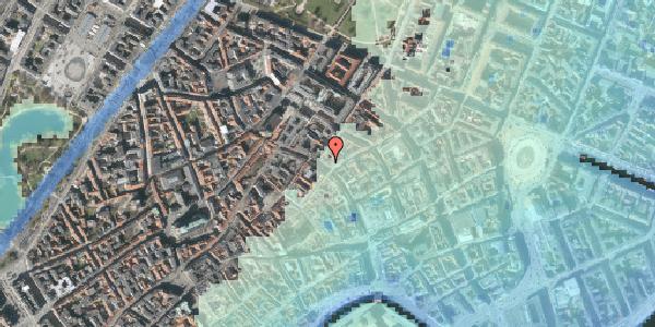 Stomflod og havvand på Købmagergade 38, 2. , 1150 København K