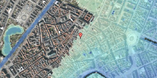 Stomflod og havvand på Købmagergade 39, kl. , 1150 København K