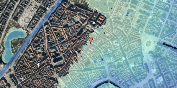 Stomflod og havvand på Købmagergade 39, 1. , 1150 København K