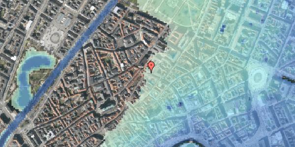 Stomflod og havvand på Købmagergade 47, st. 3, 1150 København K
