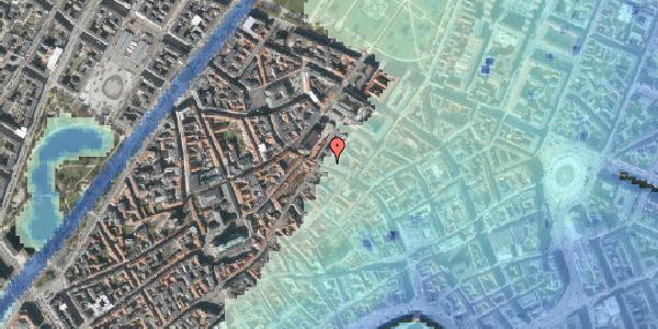 Stomflod og havvand på Købmagergade 48, 1150 København K
