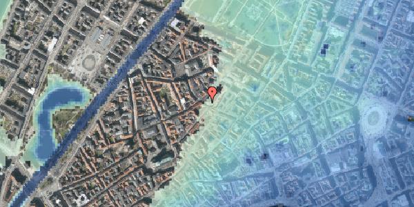 Stomflod og havvand på Købmagergade 52A, 7. , 1150 København K
