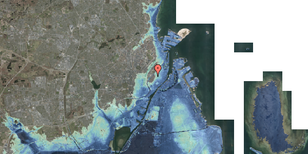 Stomflod og havvand på Købmagergade 61, st. , 1150 København K