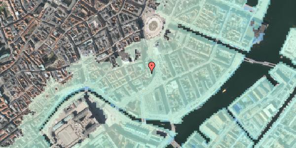 Stomflod og havvand på Laksegade 5, 3. tv, 1063 København K