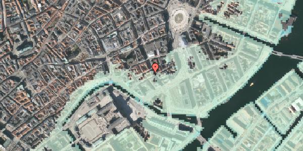 Stomflod og havvand på Laksegade 20A, 2. tv, 1063 København K