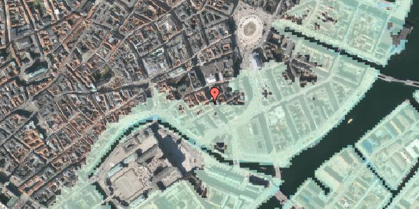 Stomflod og havvand på Laksegade 20B, 2. tv, 1063 København K