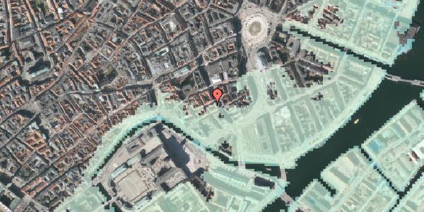 Stomflod og havvand på Laksegade 20C, 2. tv, 1063 København K