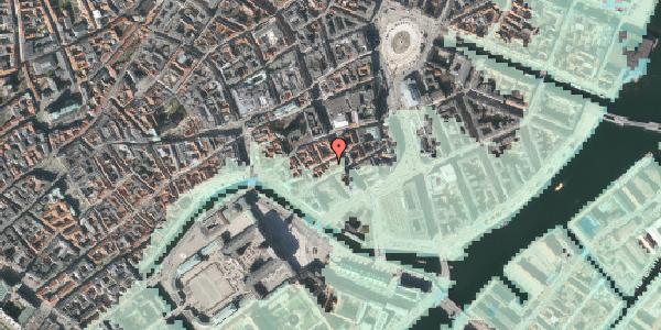 Stomflod og havvand på Laksegade 20D, 1. tv, 1063 København K