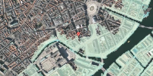 Stomflod og havvand på Laksegade 20E, 1. , 1063 København K